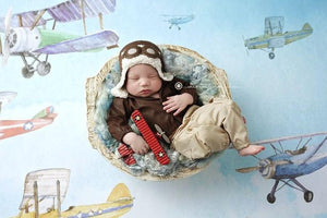 Lil' Aviator {newborn or sitter},  - No. 2 Willow Lane