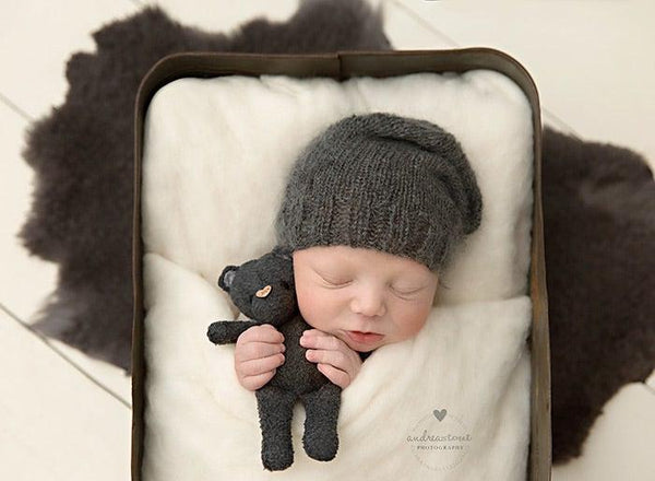 Bear {choose your color}, Beanie and bum cover - No. 2 Willow Lane