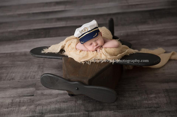 Pilot Baby {boy/girl}, Pants and hat - No. 2 Willow Lane