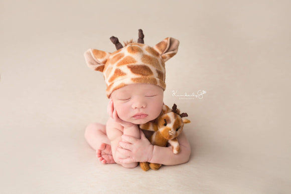 Giraffe lovie and/or hat, Lovie and Beanie - No. 2 Willow Lane