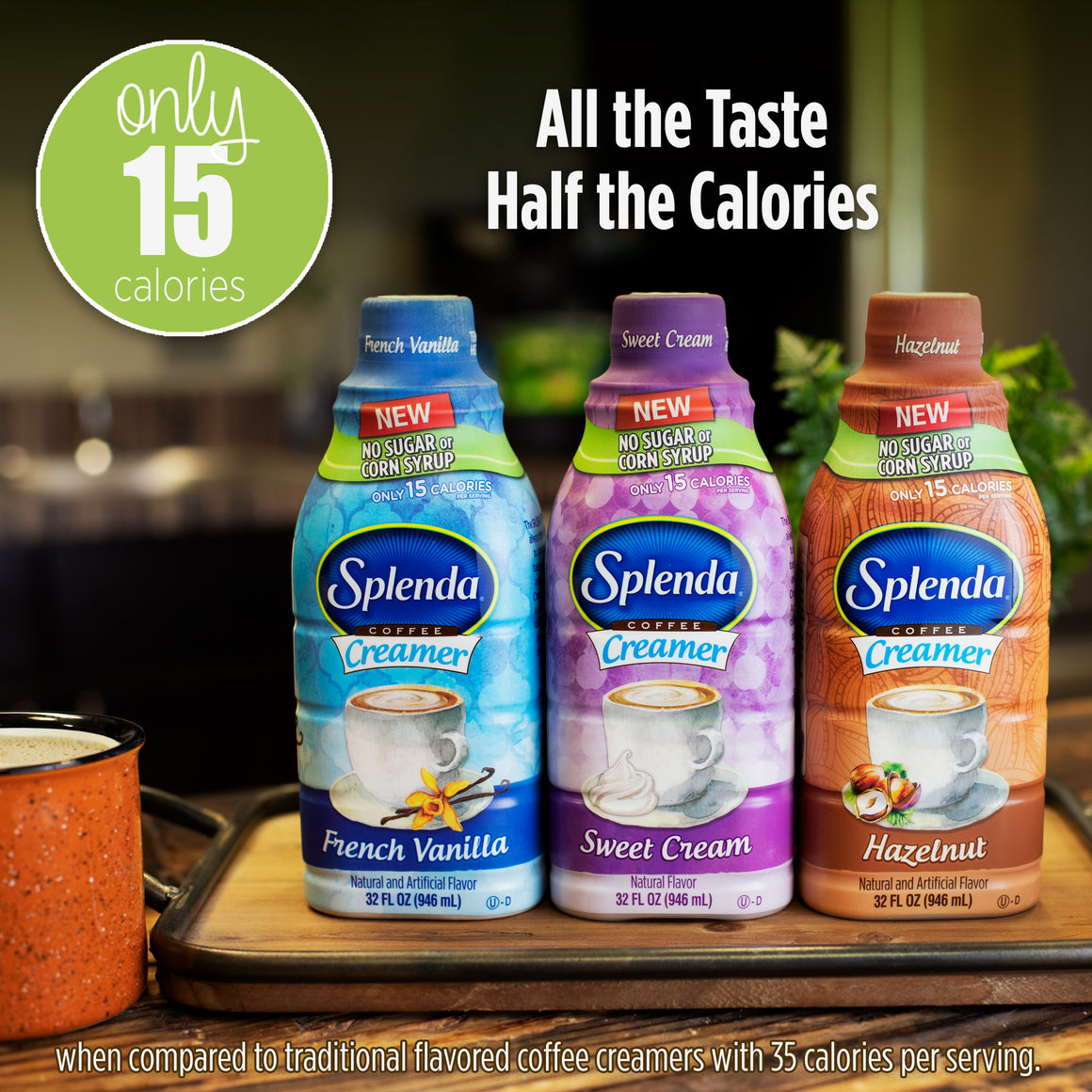 SPLENDA® Hazelnut Creamer, 32OZ