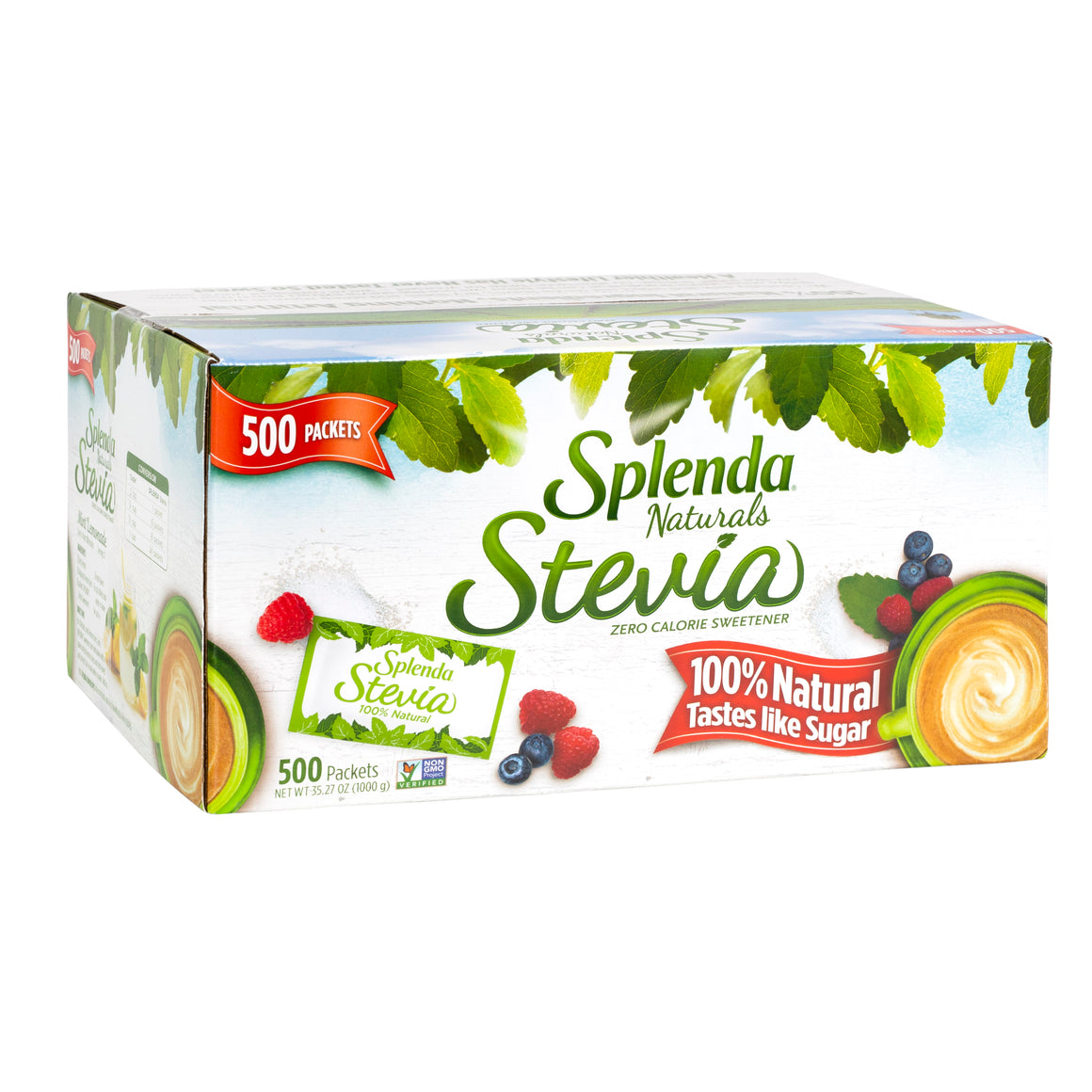 SPLENDA® Stevia Sweetener, Packets