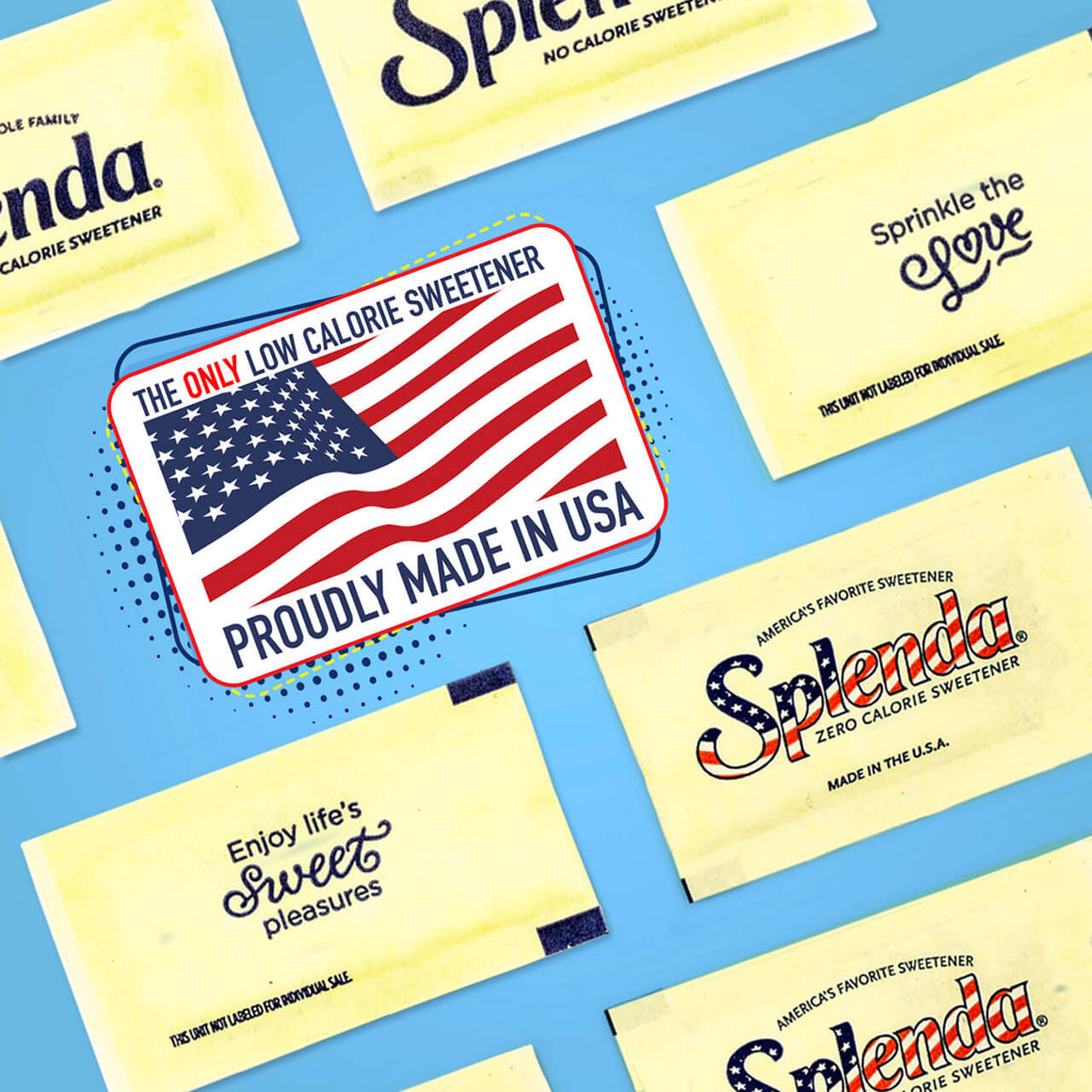 SPLENDA® No Calorie Sweetener, Packets