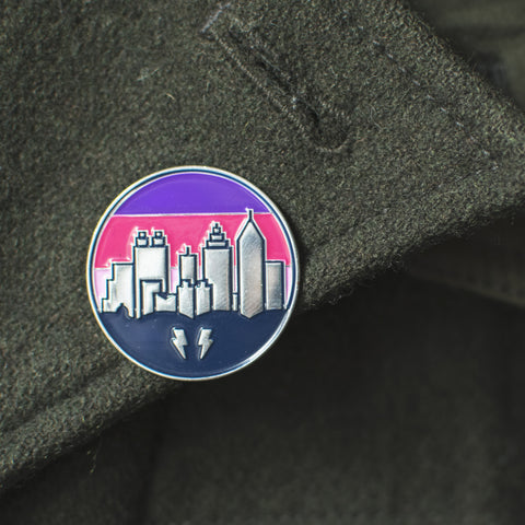 ATL Skyline Enamel Pin