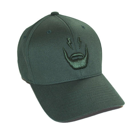 Beard Logo Cap (Green)