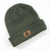 Bear Beanie - Forest Green