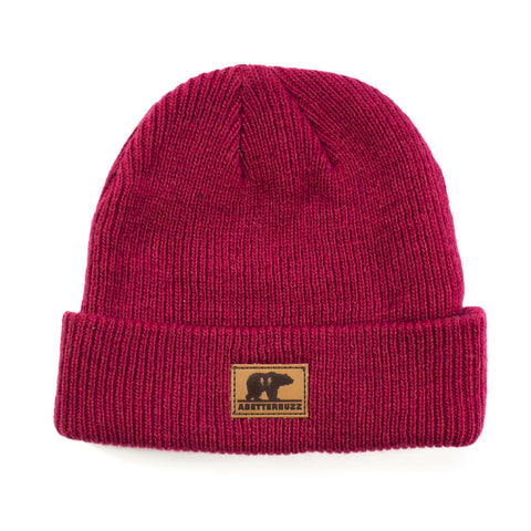 Bear Beanie - Red