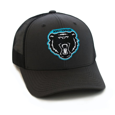 Bolt Bear Cap - Charcoal