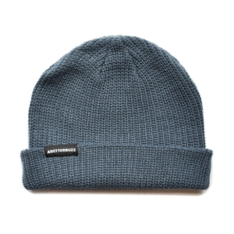Lodge Beanie - Petrol Blue
