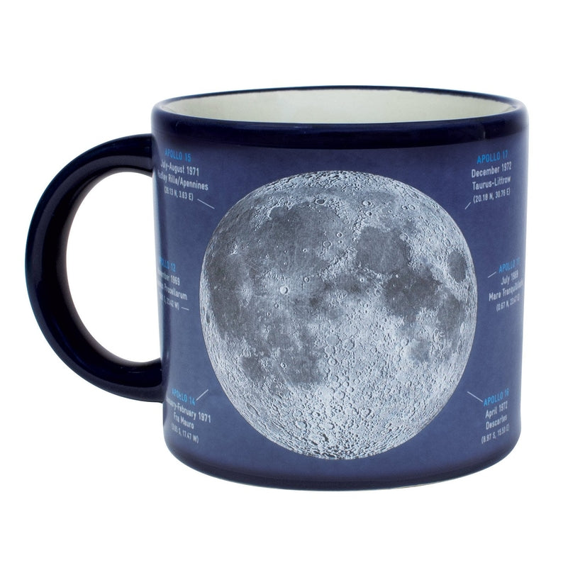 Moon Mug with Heat Changing Image