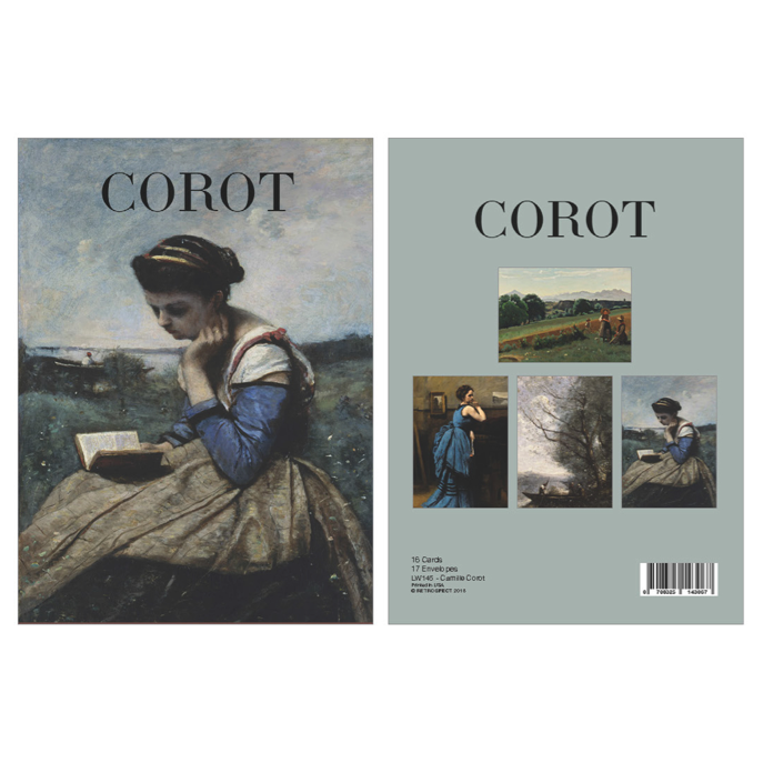 Camille Corot Boxed Notecard Set