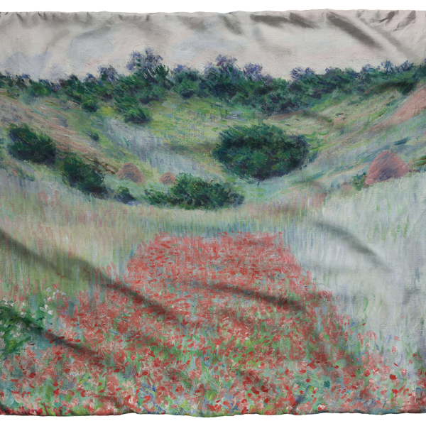 Poppy Field scarf by Monet