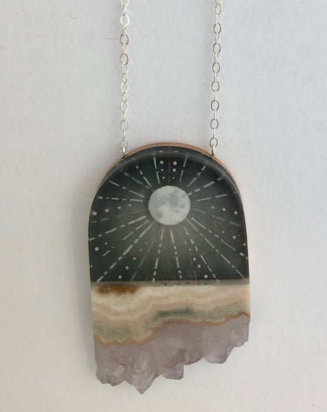 FernWorks Moon Rays Necklace