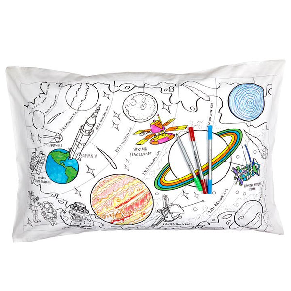Space Explorer Color in Pillowcase