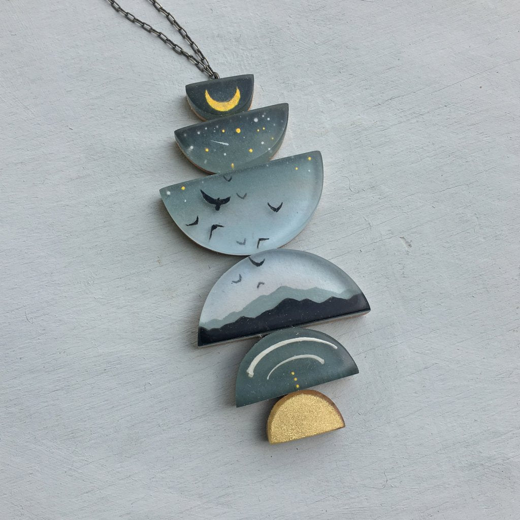 FernWorks Above Below Necklace