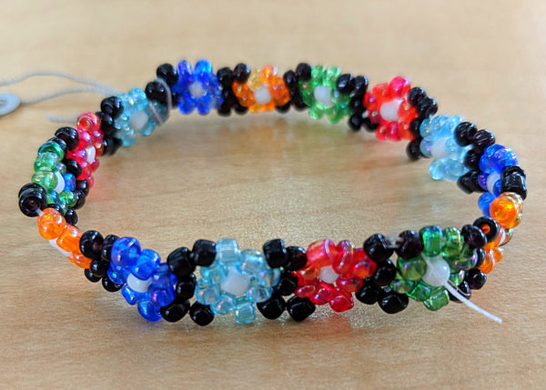 Beaded Cherokee Kids Bracelet