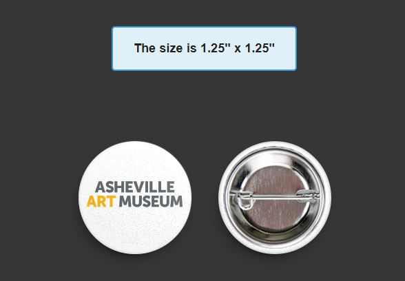 Asheville Art Museum Pin