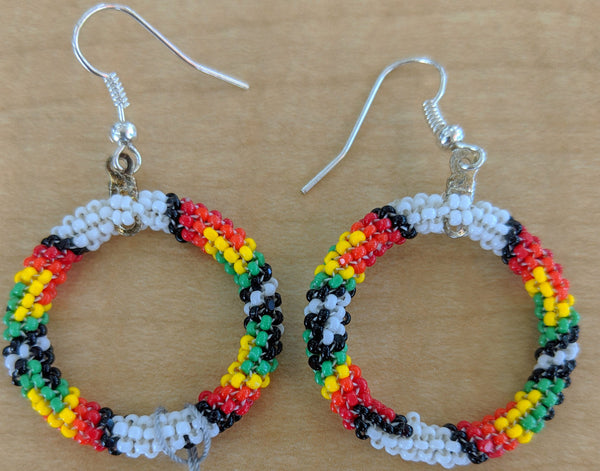Cherokee Fine Beads Beaded Earrings