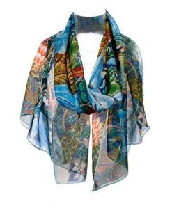 Arts & Craft Bird Scarf