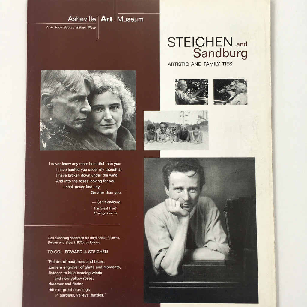 Steichen and Sandburg: Artistic and Family Ties