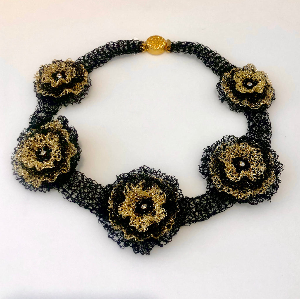 Viola Spells- Flower Neck Piece