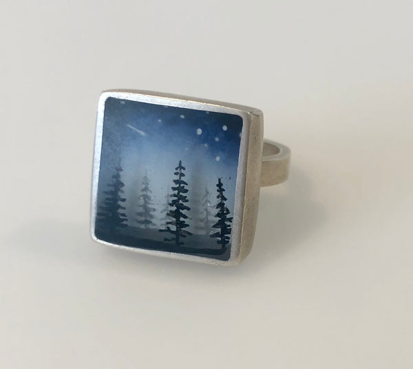 Fernworks Milky Way Ring