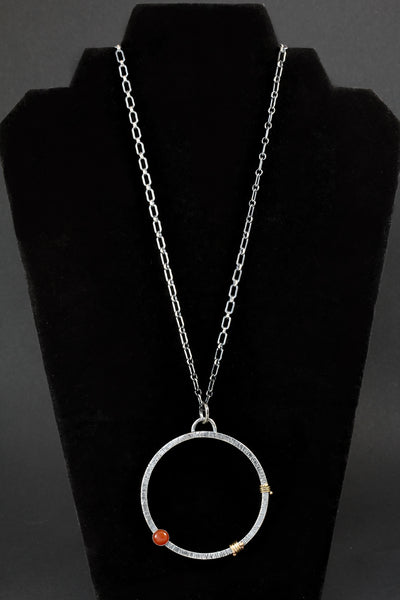 Circle Necklace by Marita Strauss
