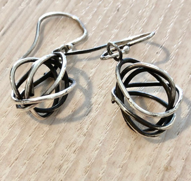 O'nel-Abstract Ball Drop Earrings