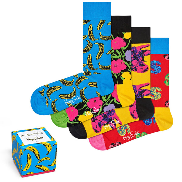 Andy Warhol Men's Banana Sock Box