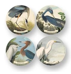 HERONS & EGRETS Coaster Set