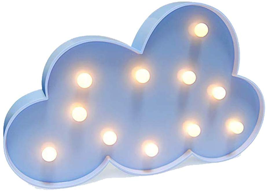 LED Cloud Light, battery powered