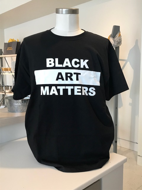 Black Art Matters t-shirt by Willie Cole