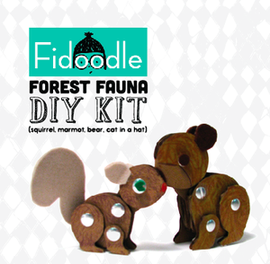 DIY forest fauna by Fidoodle