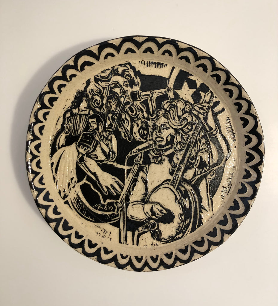 "Plate - ""Dolly"" by Carolyn Ford"