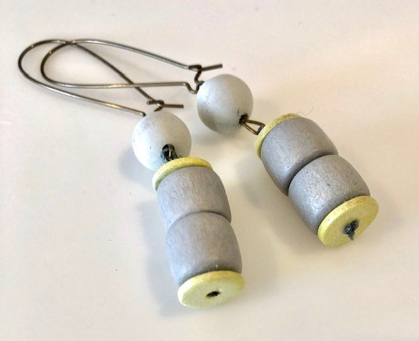 Concrete Earrings