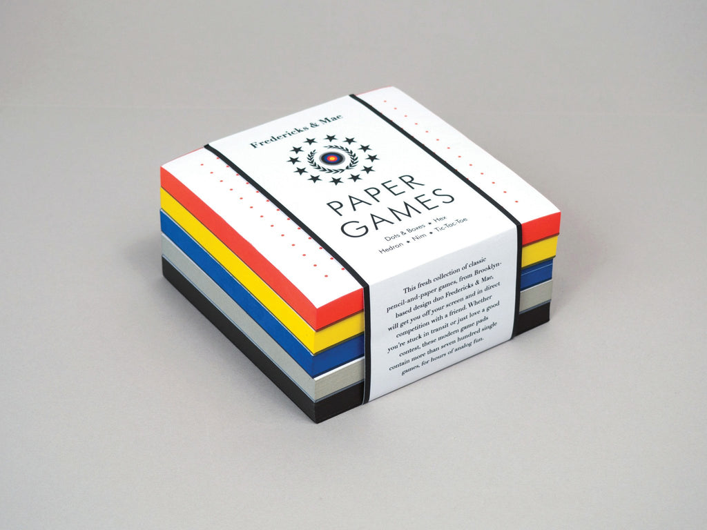 Paper Games Notepad Set
