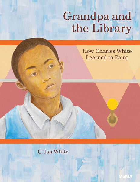 Grandpa & the Library-Charles White