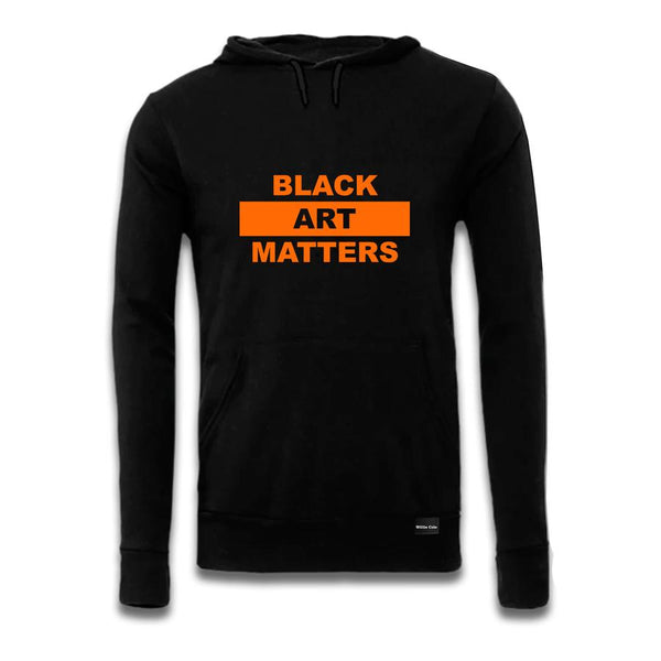 Black Art Matters Hoodie by Willie Cole