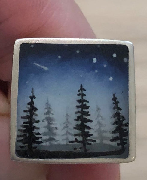 Fernworks Painted Resin Ring