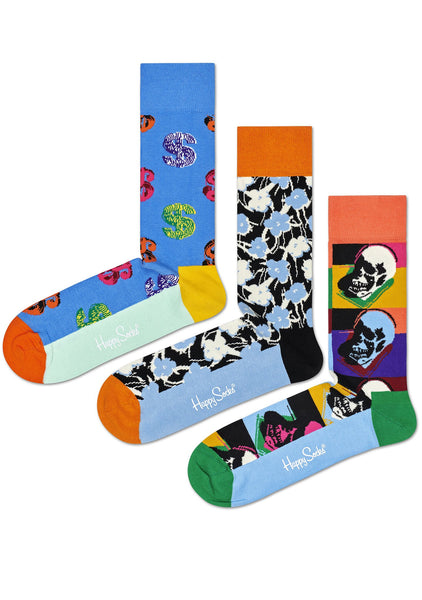 Andy Warhol SKULL SockBox-Women