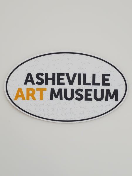 Asheville Art Museum Sticker