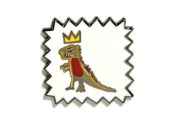 Basquiat Dino Pin