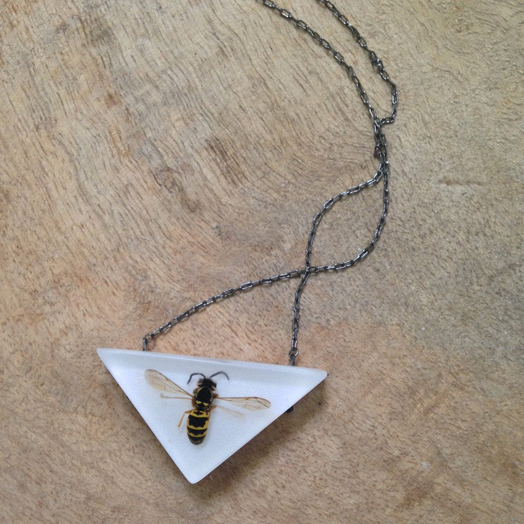 FernWorks Yellowjacket Necklace