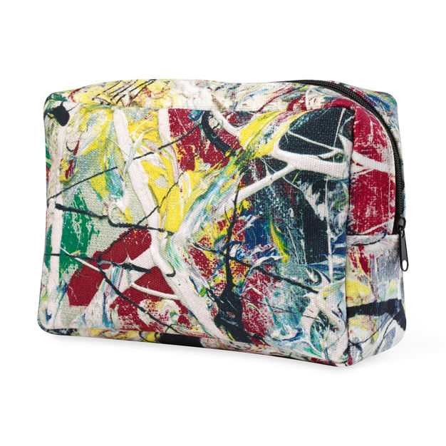 White Light Utility Case - Jackson Pollock