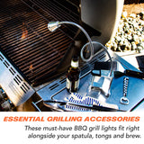 "24"" GooseLight Clamp On Magnetic LED BBQ Grill Light with 3 Heavy Duty Magnets"