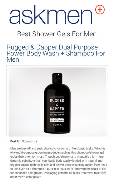 Askmen best shower gel