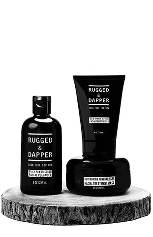 All-In-One Essential Mens Skincare Set