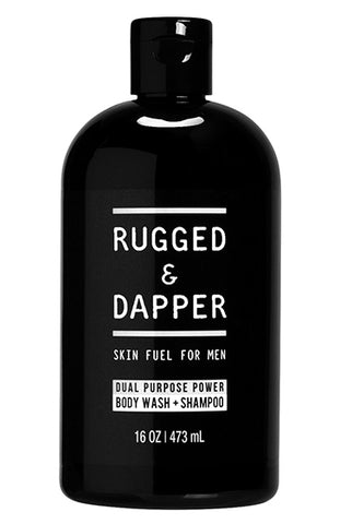 Dual Purpose Power Mens Body Wash + Shampoo