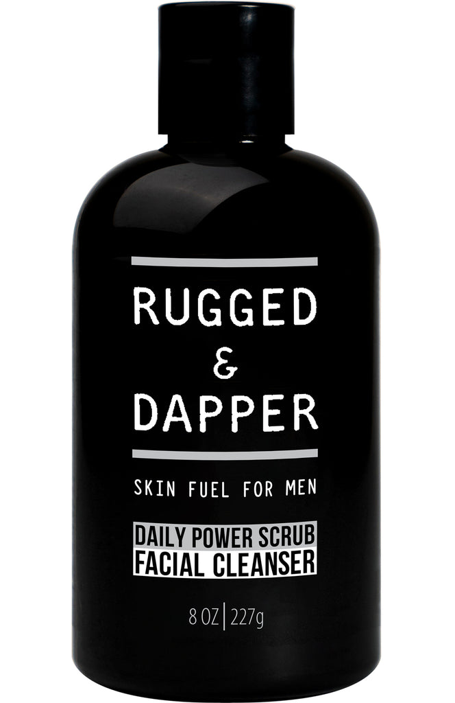 Daily Power Scrub Mens Facial Cleanser