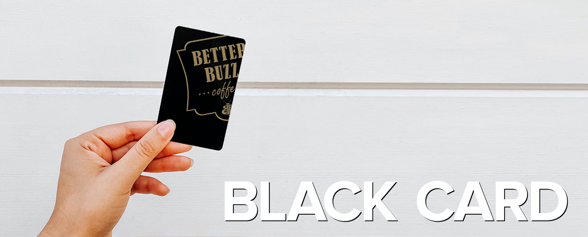 Black Card Banner Image